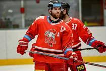 Útočník HC Olomouc Jan Knotek.