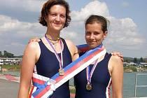 Pavlína Žižková a Jana Vyhnánková