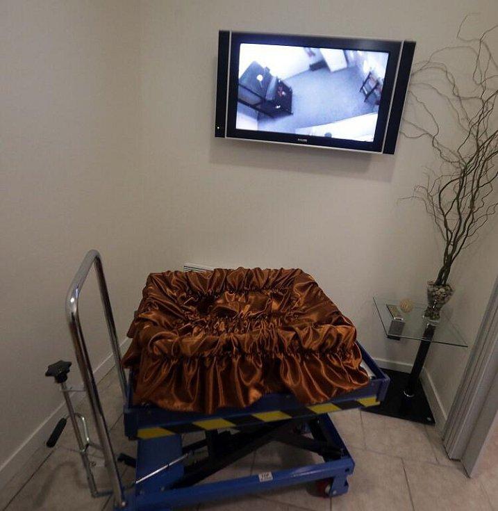Zvířecí krematorium v olomoucké čtvrti Bělidla