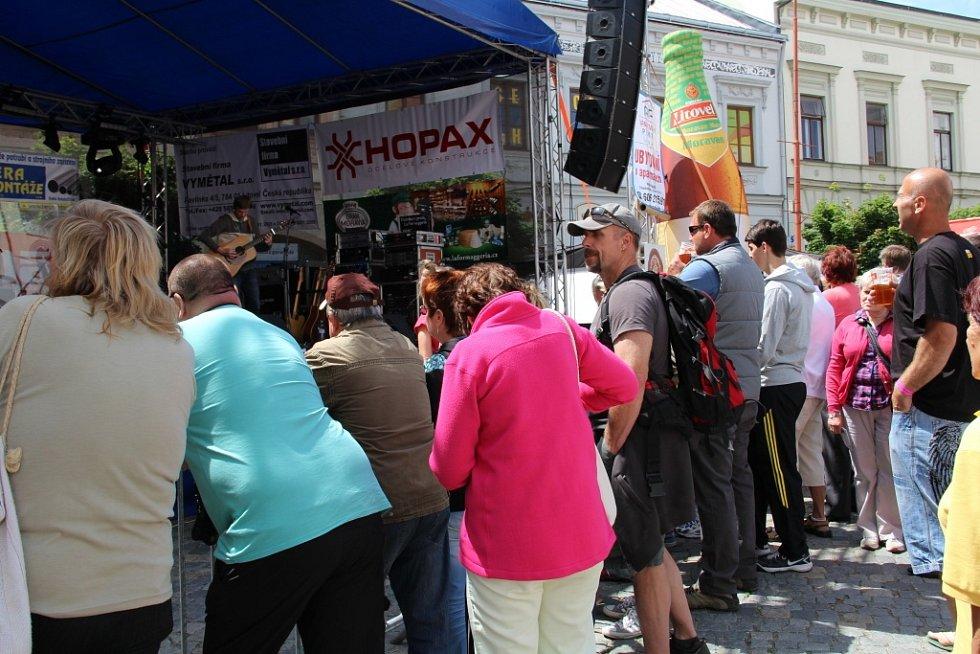 Festival Hanácké Benátky nabídnul návštěvníkům hudební program i dětské hry
