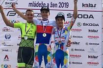 Dva borci na stupních vítězů. Tomáš Obdržálek a Daniel Mráz vybojovali zlato a bronz na MČR kadetů a žáků ve Vidnavě.
