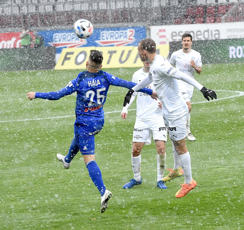 Olomouc remizovala doma se Slováckem v dohrávce 23. kola 0:0.Martin Hála