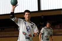 Házenkářský turnaj O pohár města Olomouce – Drinex Cup.  Litovel – Droždín. Jan Šmíd.