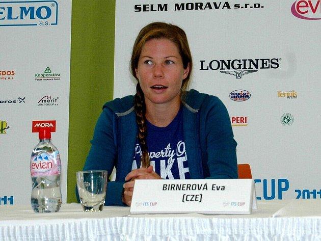 Mezinárodní turnaj žen v Olomouci ITS Cup- Eva Birnerová.