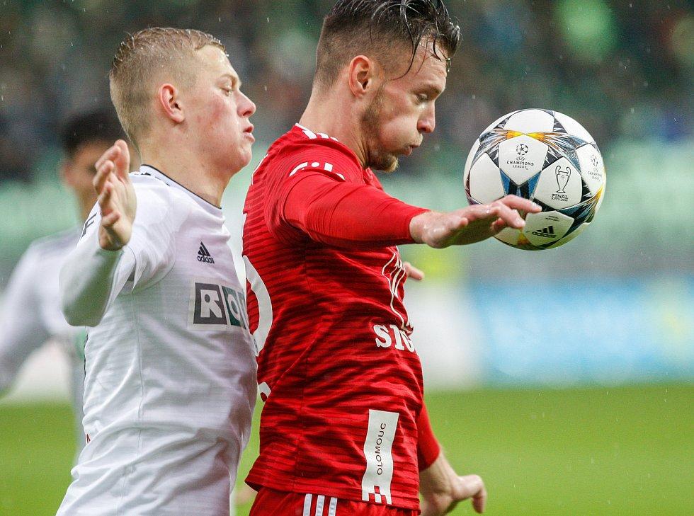 Fotbal MFK Karviná - SK Sigma Olomoucvlevo Filip Panák