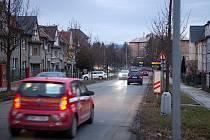 Erenburgova ulice v Olomouci