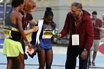 Olomoucký půlmaraton 2017 - nejrychlejší žena Etiopanka Worknesh Degefa