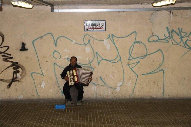 Podchod pod Brněnskou ulicí vOlomouci