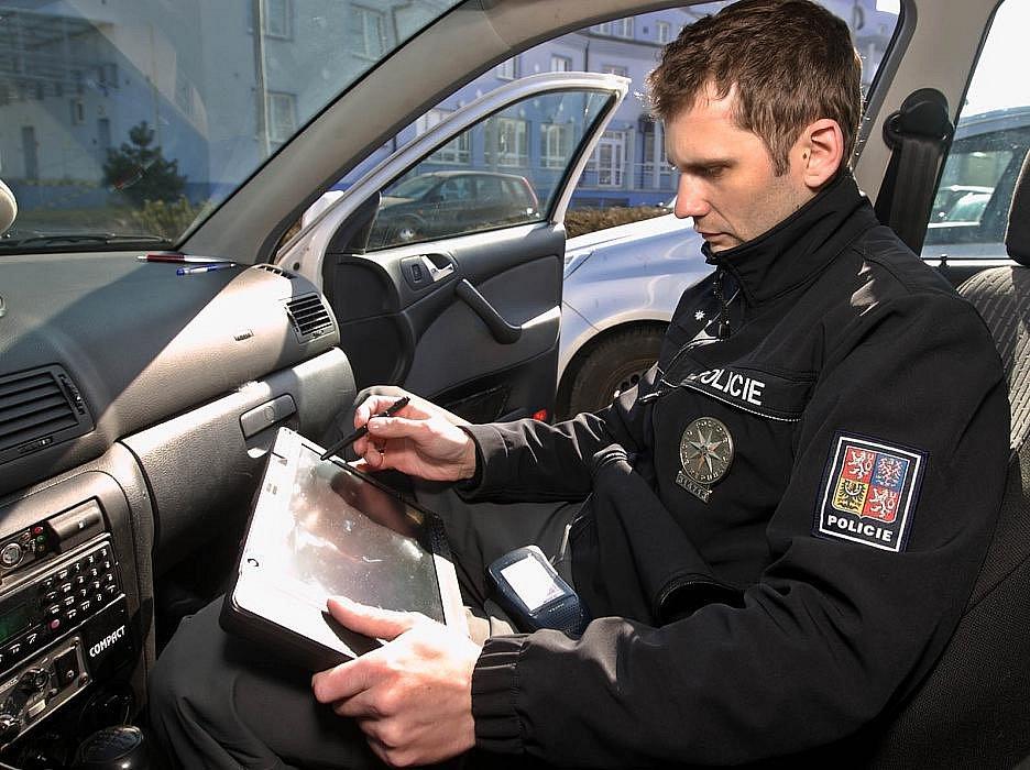Nový radar olomoucké policie v akci