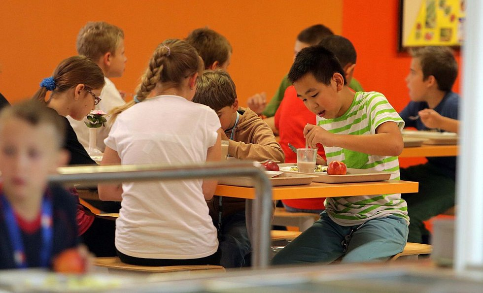 Školní jídelna - Ilustrační foto