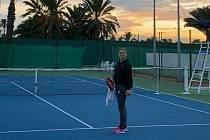 Olomoucká tenistka Anna Sisková hraje během Vánoc na turnaji v Tunisku.