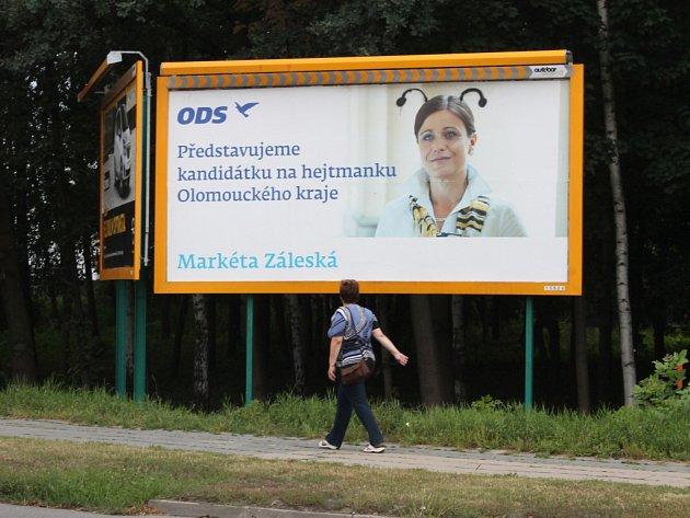 Přimalovaná tykadla. Ilustrační fotografie z Olomouce.