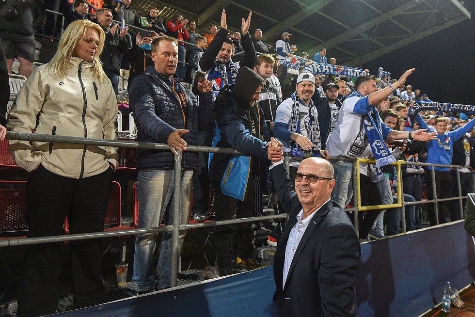 Trenér Baníku Páník po prohraném finále poháru v Olomouci