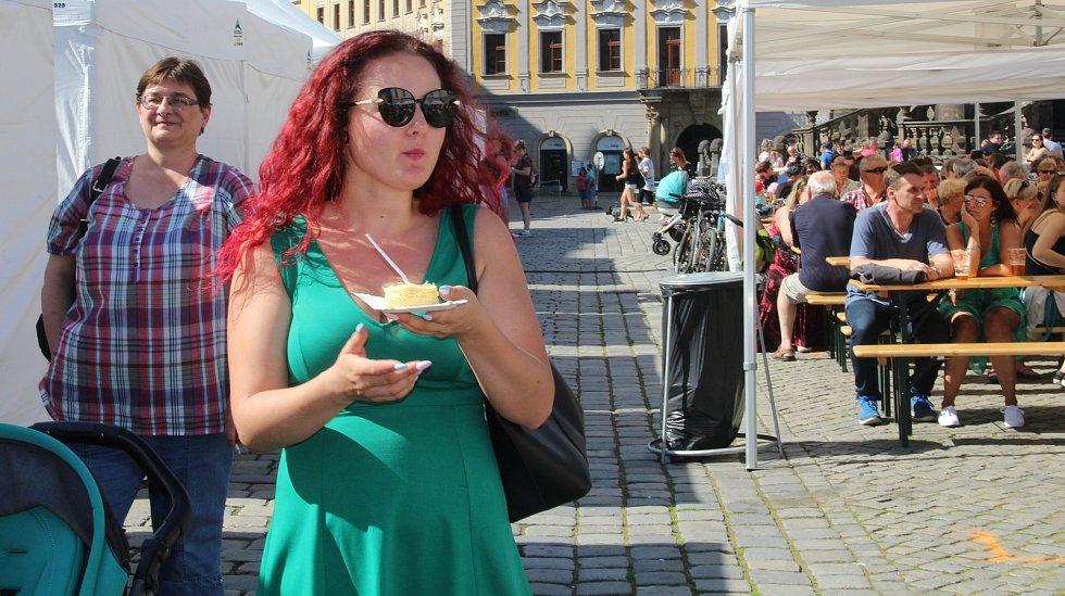 Tvarůžkový festival v centru Olomouce