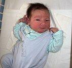 Štěpán Obíral, Kamenná, narozen 11. září ve Šternberku, míra 52 cm, váha 3840 g