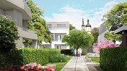 Vizualizace bytových domů v Lazcích