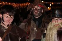 Průvod kostýmovaných příznivců fantasy v Olomouci