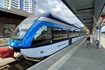 V pořadí třetí jednotku řady 646 Stadler GTW nasadily ČD na trati z Olomouce do Drahanovic.