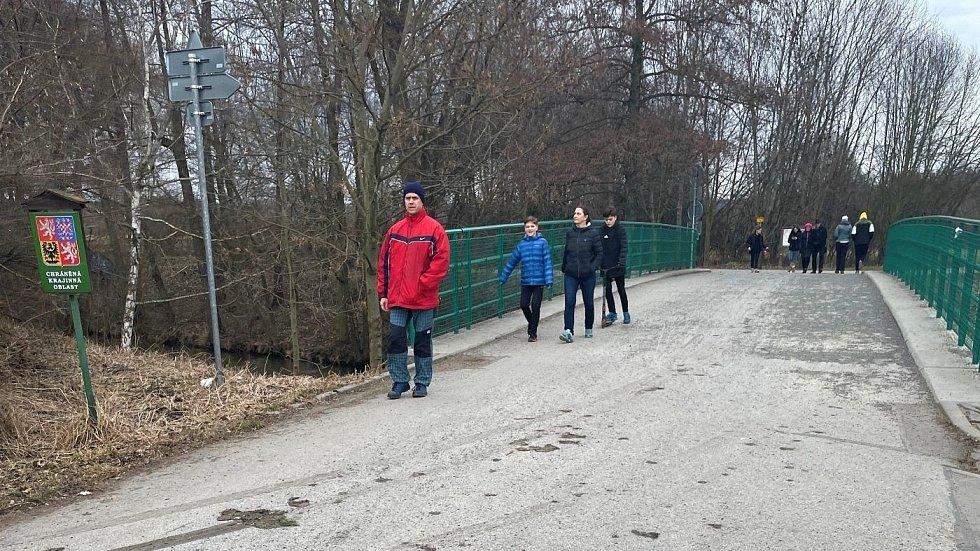 Koupaliště Poděbrady u Olomouce v sobotu 13. března 2021