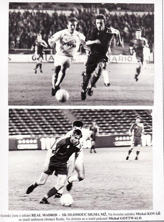 V březnu 1992 se Sigma Olomouc ve čtvrtfinále Poháru UEFA utkala s Realem Madrid (1:1 doma, 0:1 venku).
