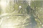 Po povodních v roce 1930 bylo nutné ve Střeni zřízení ochranných hrází. Práce spojené s jejich vybudováním probíhaly v letech 1935-1936.