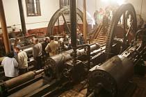 Historická parní čerpací stanice ve Chválkovicích.