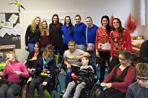 Olomoucké volejbalistky podpoří dobrou věc. Budou hrát pro děti zCREDA.