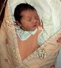 Anna Friedlová, Šternberk, narozena 28. ledna ve Šternberku, míra 49 cm, váha 3110 g.