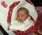 Sofie Furišová, Dlouhá Loučka, narozena 17. září ve Šternberku, míra 50 cm, váha 2980 g