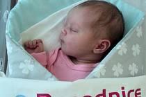 Nela Kratinová, Libivá narozena 12. srpna míra 51 cm, váha 3380 g