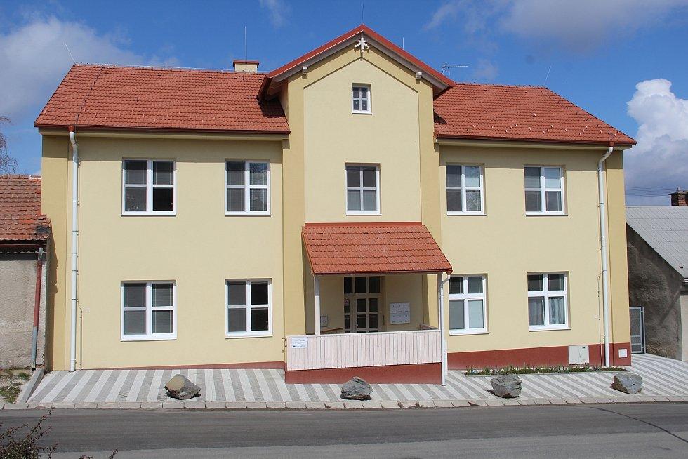 Dům s novými sociálními byty v Drahanovicích