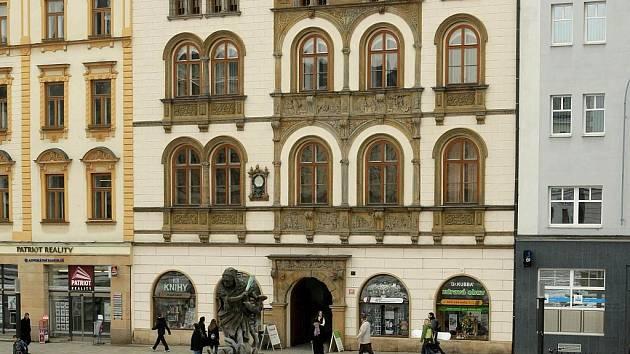 Edelmanův palác na Horním náměstí v Olomouci