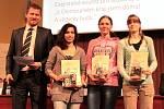 Cenu mediálního partnera Rádia Haná získaly Kateřina Jurníková, Michaela Churavá a Haná Novotná ze Střední odborné školy Šumperk
