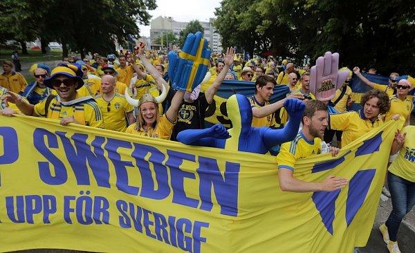 Euro 21vOlomouci: Švédsko vs. Itálie - atmosféra před zápasem