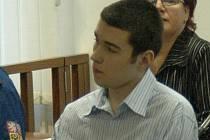 Matěj Juchelka, který zavraždil svou babičku.