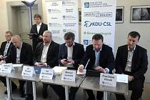 KDU-ČSL a Strana zelených podepsaly spolupráci pro nadcházející volební období v Olomouckém kraji.