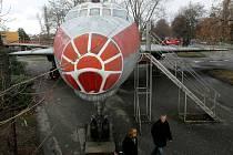 Olomoucké letadlo Tu-104