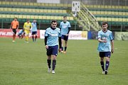 Fotbalisté 1. HFK Olomouc prohráli s Líšní (v bílém) 1:7