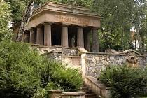 Bezručovy sady  - Jihoslovanské mauzoleum
