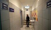 Září 2015. Zrekonstruované sociální zařízení a sprchy na olomouckém plaveckém stadionu