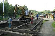 Oprava kolejí