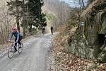 Naučná stezka Údolím Bystřice, duben 2021