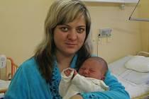 Pavel Spurný, Bohuslavice, narozen 20. prosince v Olomouci, míra 52 cm, váha 4170 g