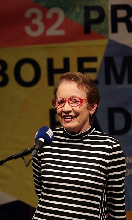 Hana Maciuchová na festivalu Prix Bohemia Radio v Olomouci.