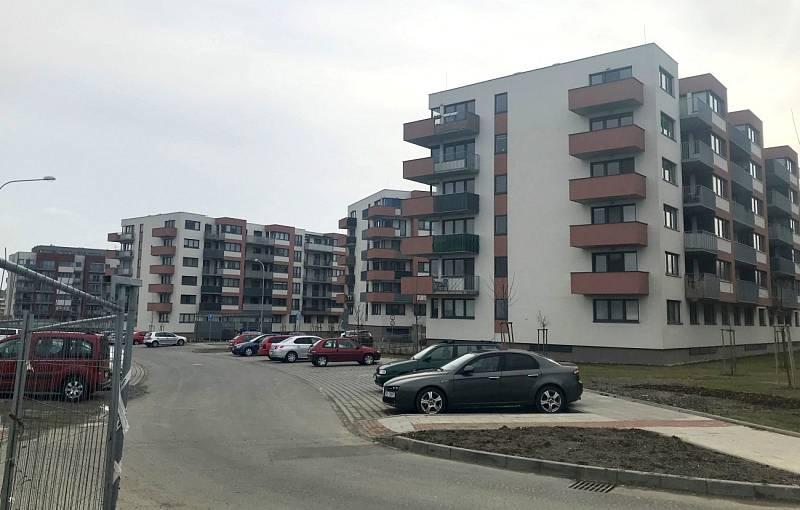 U Wolklerovy ulice v Olomouci roste několik developerských projektů