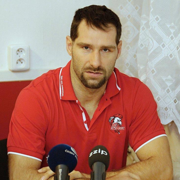 Martin Vyrůbalík, kapitán A-mužstva HC Olomouc