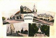 NĚMECKÝ ŽIVEL. Nebotein je německý výraz pro Hněvotín. V obci byl silný německý živel. Problémy v soužití mezi Němci a Čechy se začínají projevovat v 19. století, rozšiřující se nacionalismus zasahuje i Hněvotín. Spory pokračují až do poválečného odsunu n