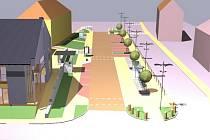 Vizualizace proměny centra Medlova