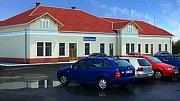 Vizualizace přestavby nádraží ve Šternberku - cílový stav