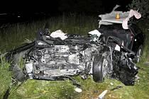 Tragická nehoda u Horní Loděnice